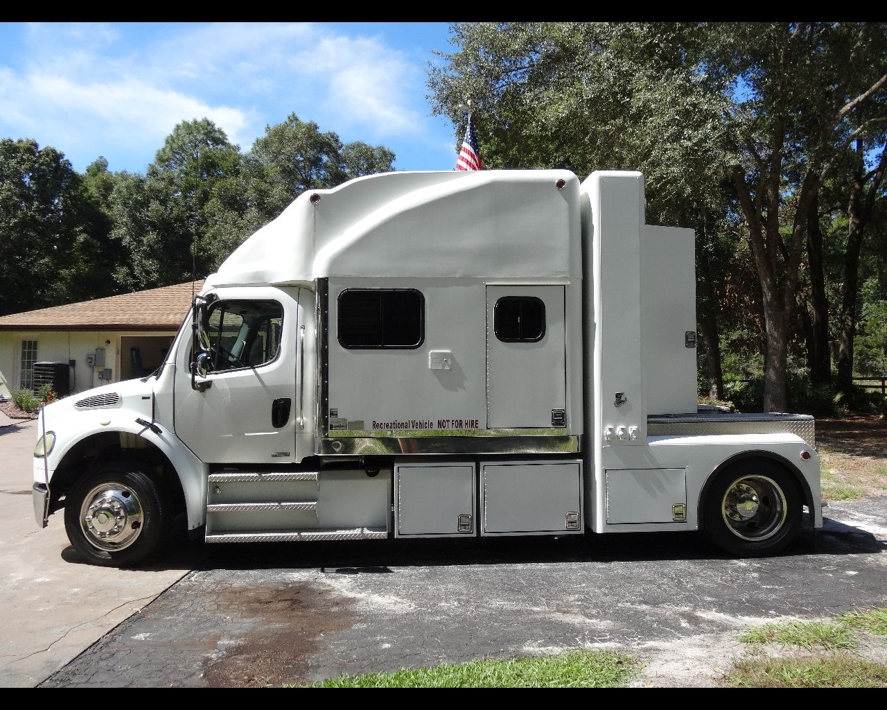 A Nice Step Up Is A Tractor That Has Been Professionally Converted Into A  Hauler Such As This CrewChief. This One Has A Sofa, Bathroom, A Small  Kitchen, ...