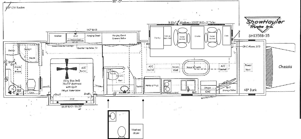 semi truck floor plans. It s nice to dream but eventually reality sets in  I currently only get a few weeks off year for vacation Even if was retired can t see myself being RV ponderance